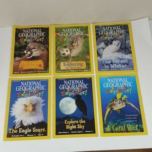 6 National Geographic Young Explorer Magazines